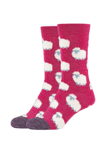 Damen Crew Socks Sheep 2er Pack