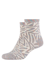Lade das Bild in den Galerie-Viewer, Damen Anklet Socks Star 2er Pack