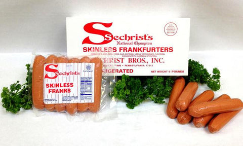 5 lbs. Skinless Hot Dogs