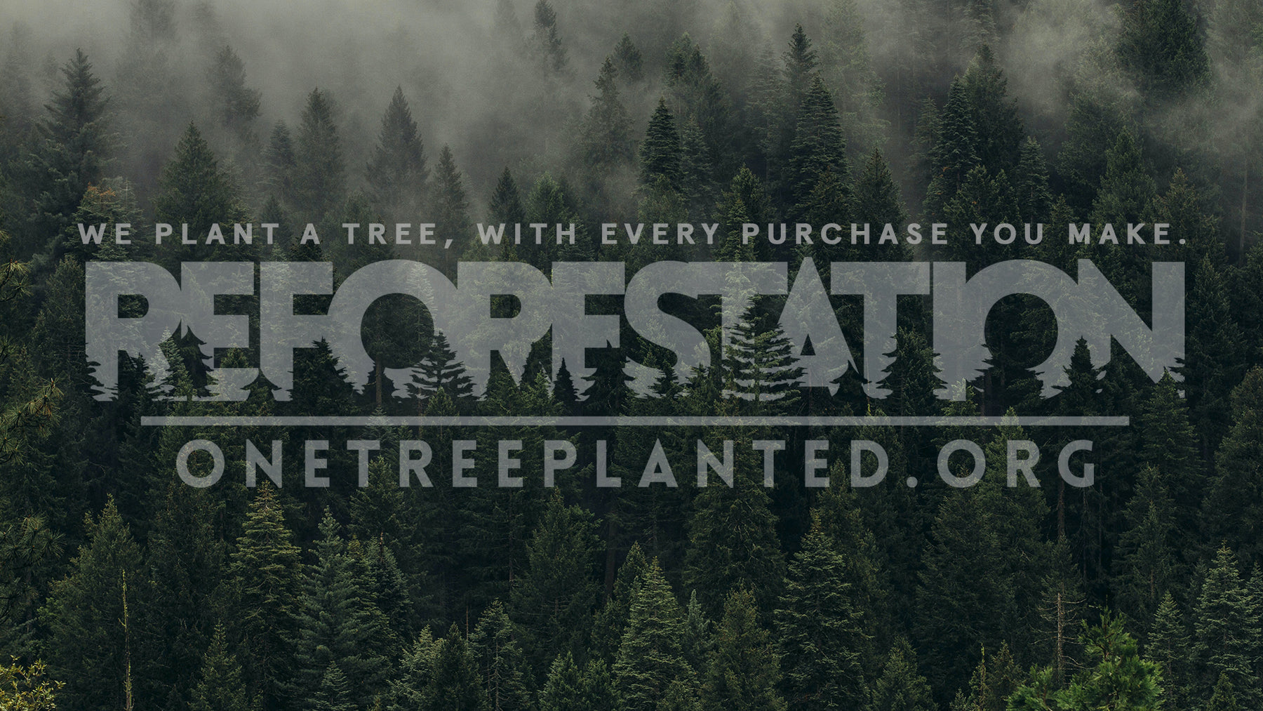 One Tree Planted Footer