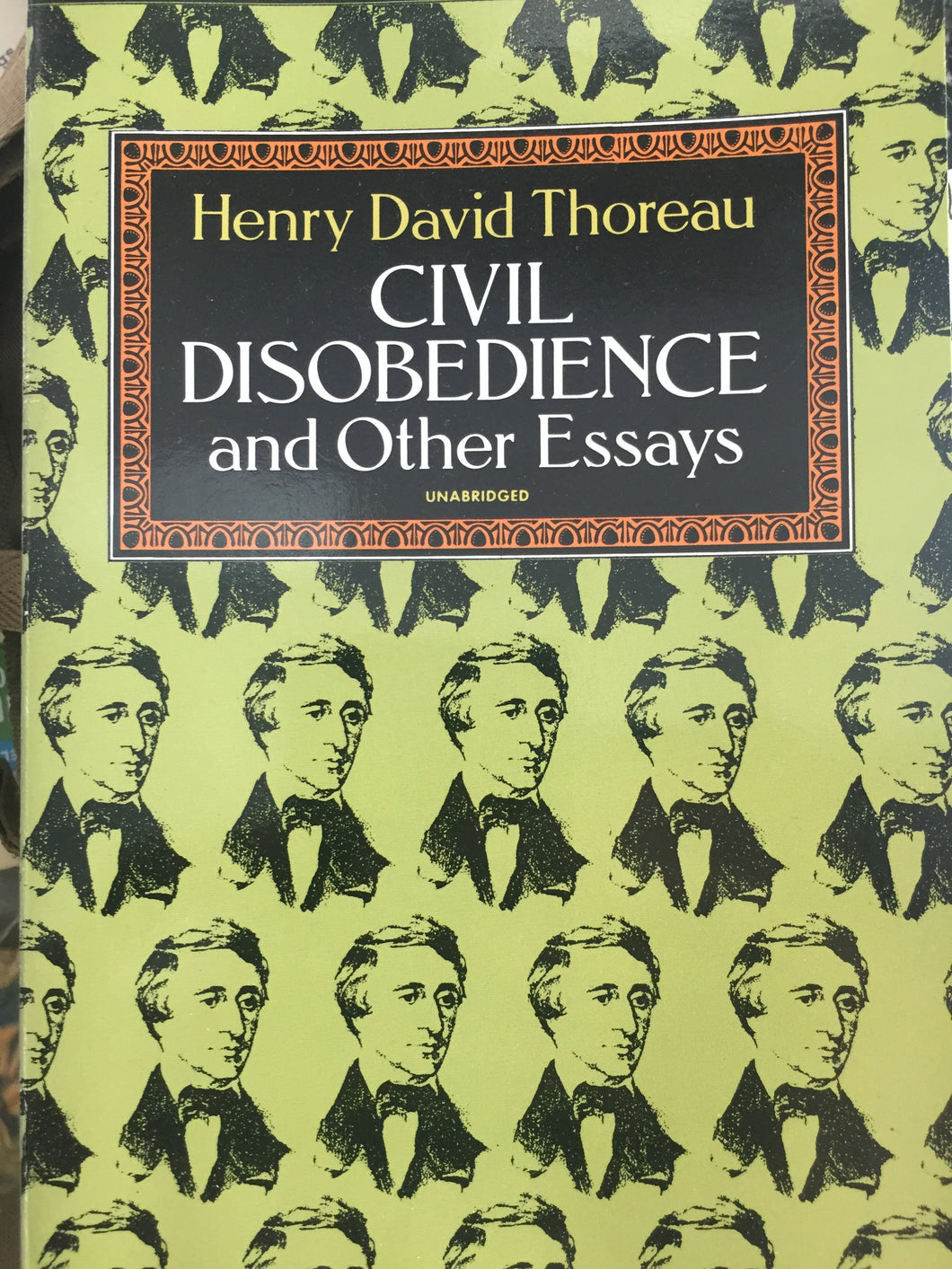 Civil Obedience and Other Essays