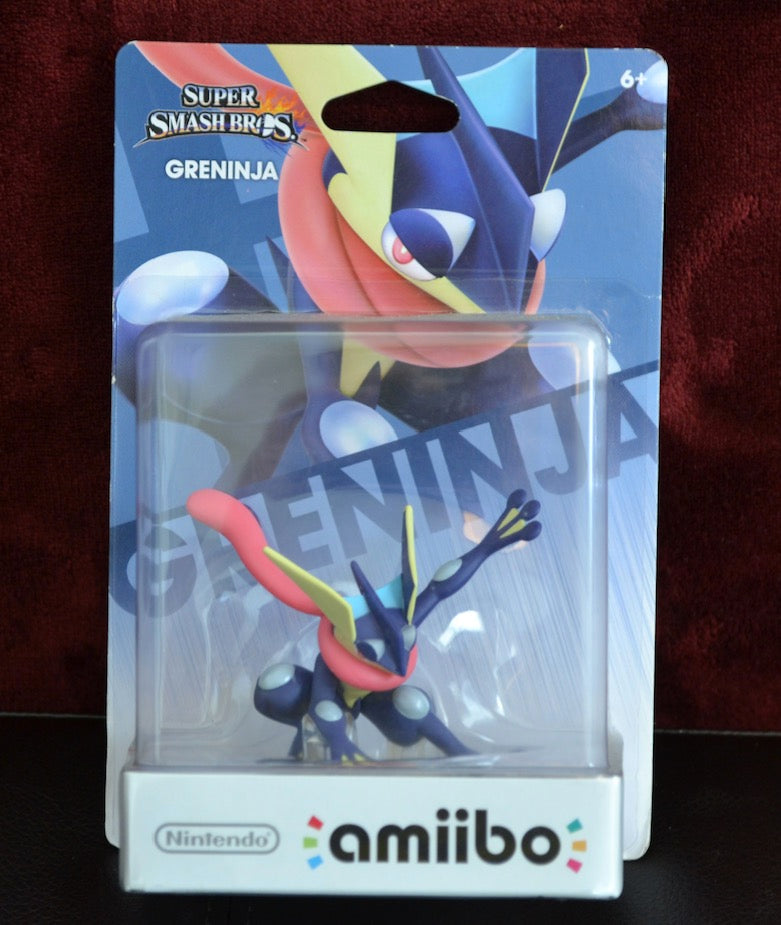 greninja amiibo (New in Box)