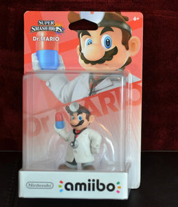 Dr. Mario Amiibo (New in Box)