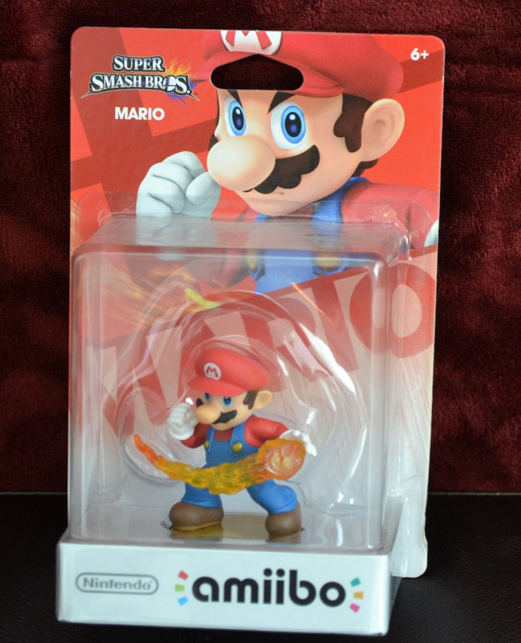 Mario Amiibo (New in Box)