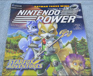 Nintendo Power Star Fox Adventures