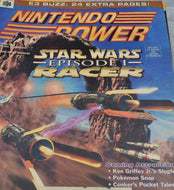 Nintendo Power star wars episode 1 racer