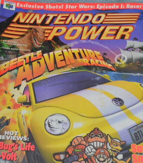 Nintendo Power Beetle Adventure Racing
