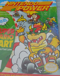 Nintendo Power Super Mario Kart