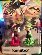 Cali and Marie Splatoon Amiibo