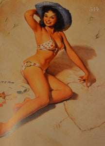 Gil Evergren Pinup Book