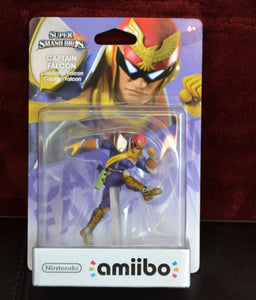 Captain Falcon Amiibo (New in Box)
