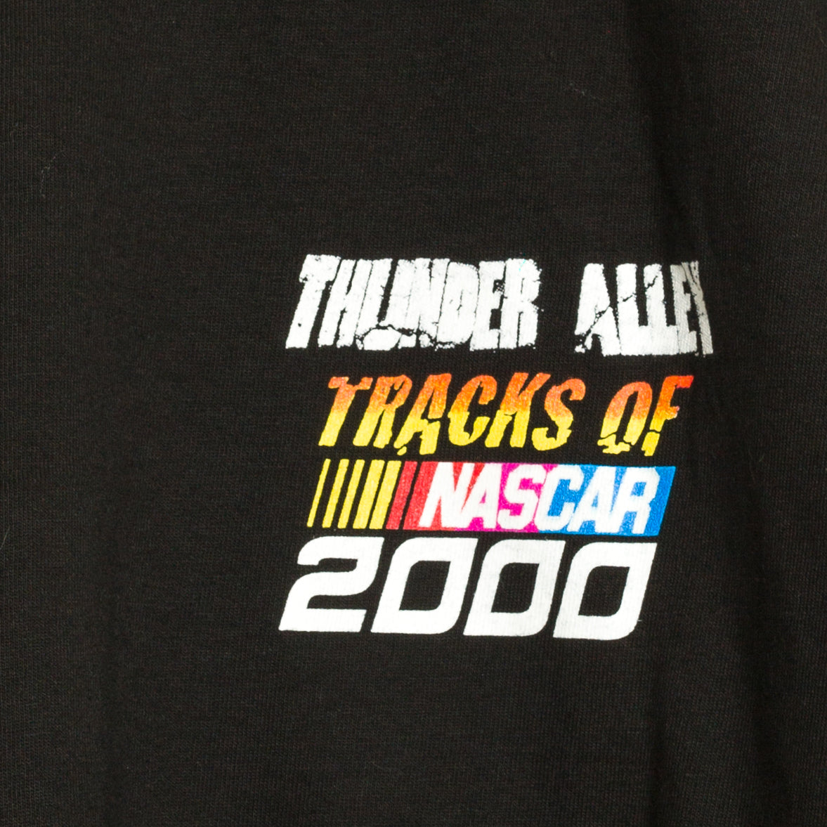2000 Thunder Alley Nascar Racing Tour T-Shirt