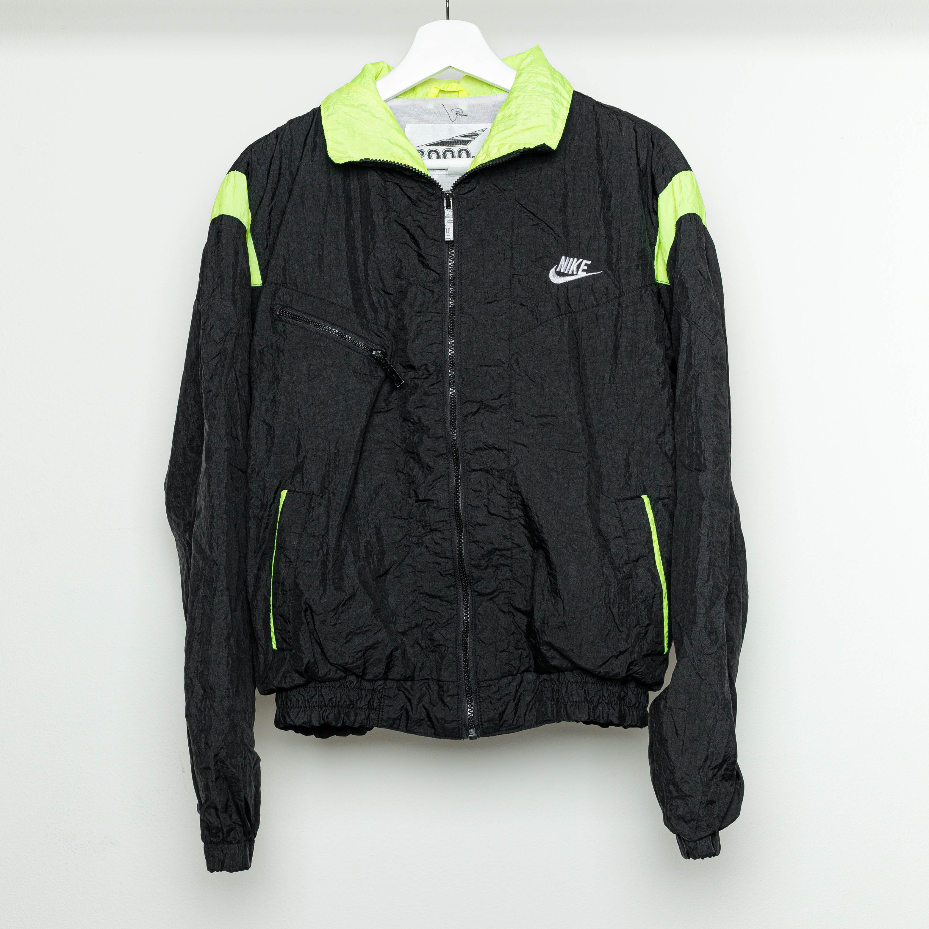 90's Nike Women's Bootleg Wind Breaker jacket