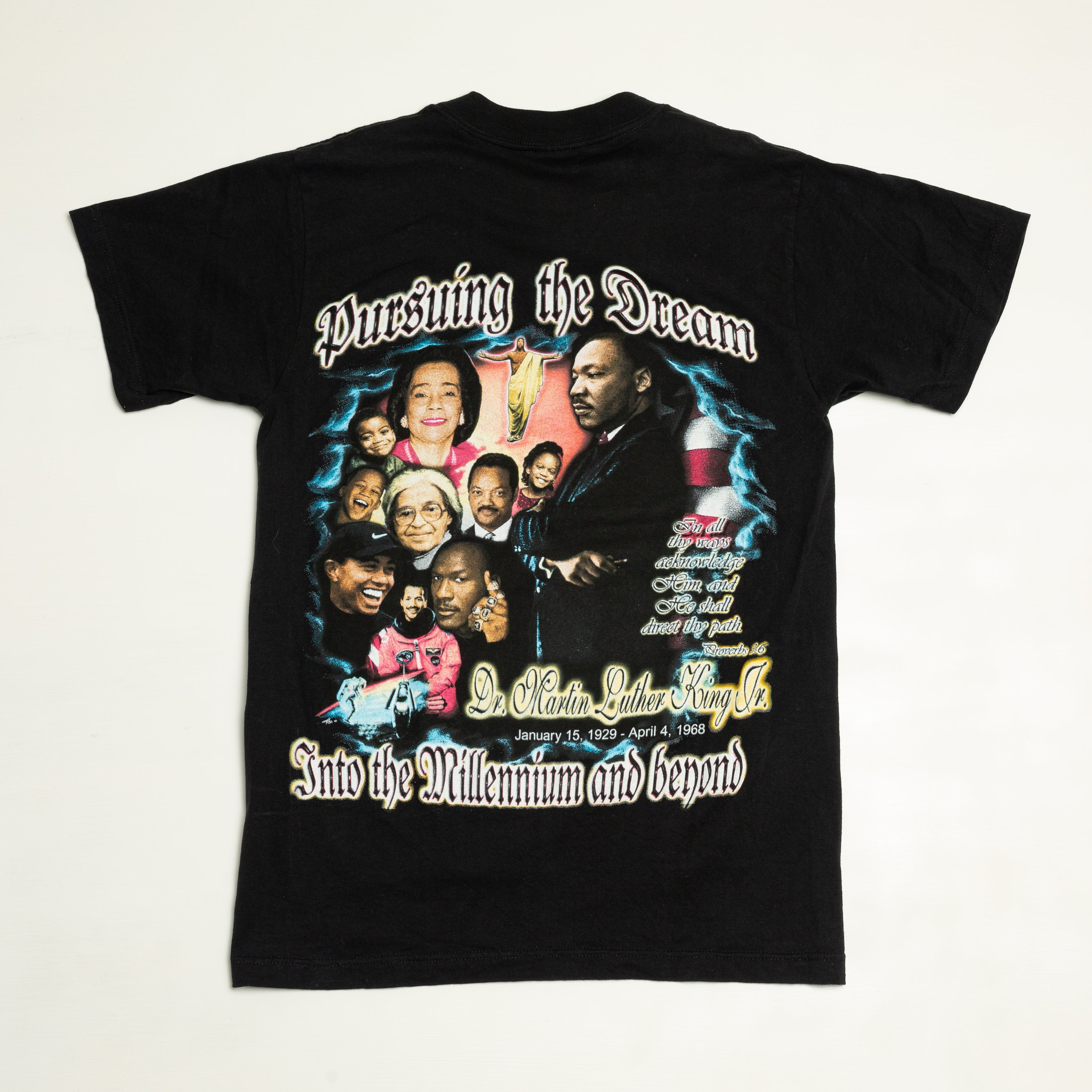 2000 Martin Luther King Jr. Bootleg Rap Style T-Shirt