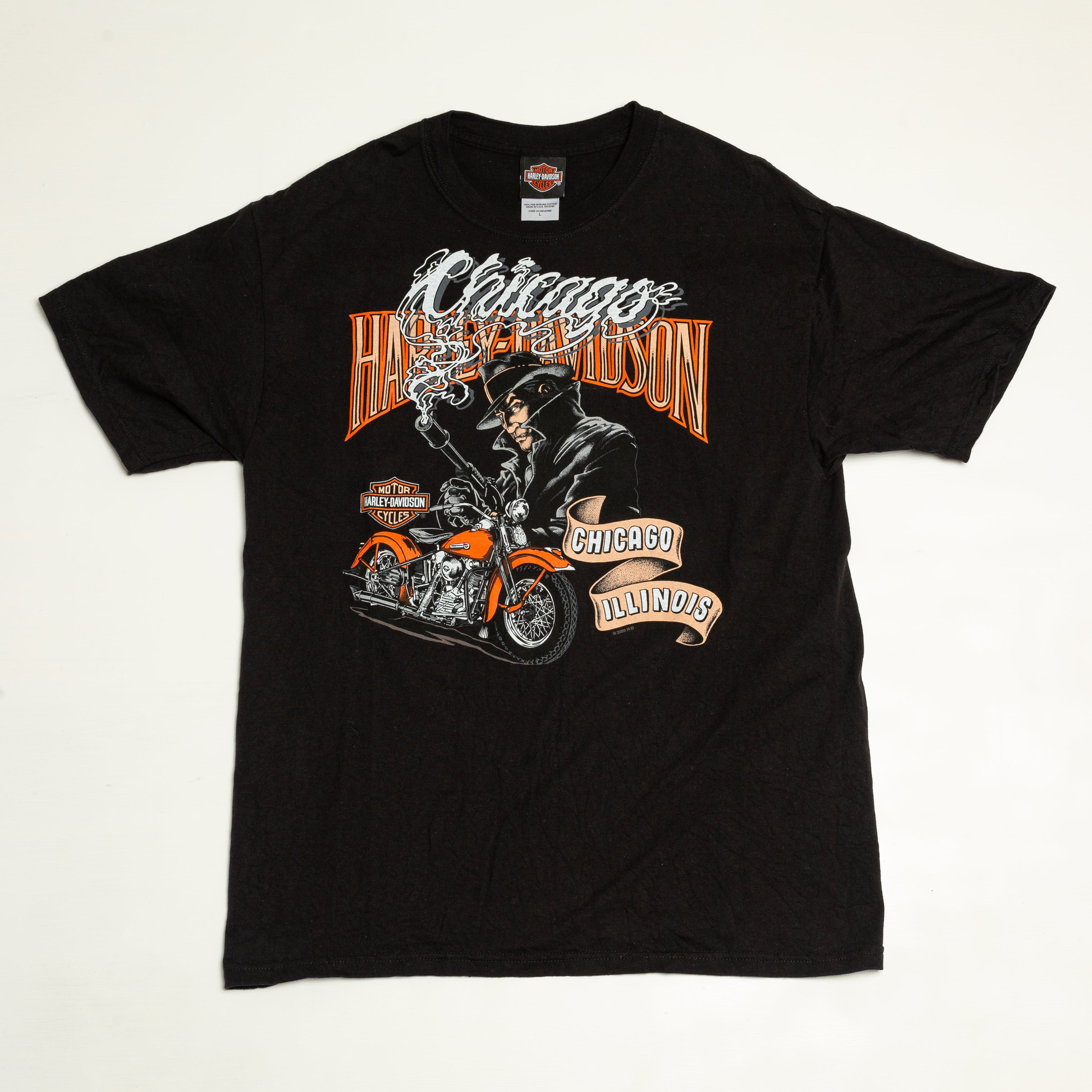 2003 Chicago Harley Davidson T-Shirt