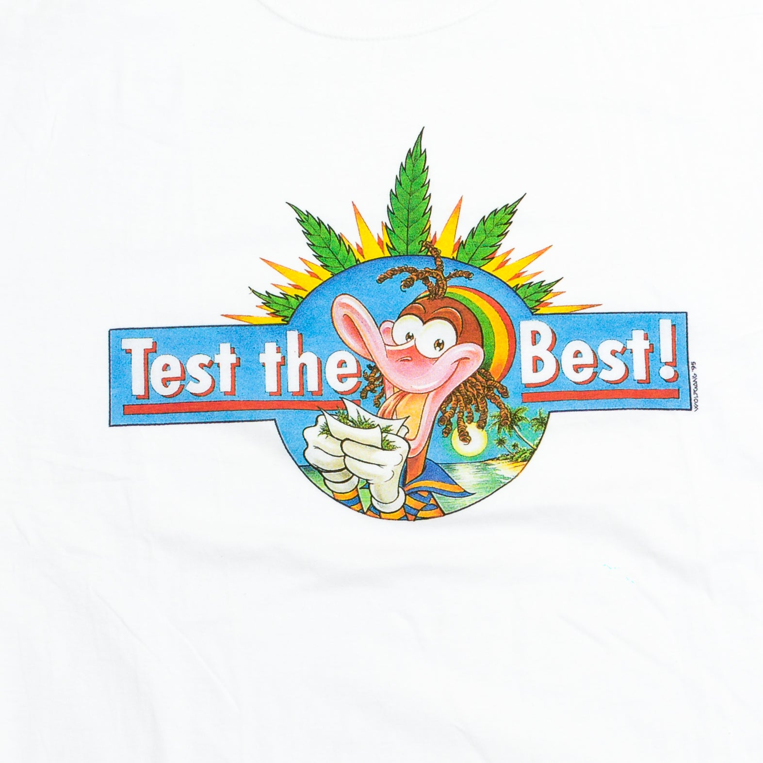 1995 Test The Best Weed T-Shirt