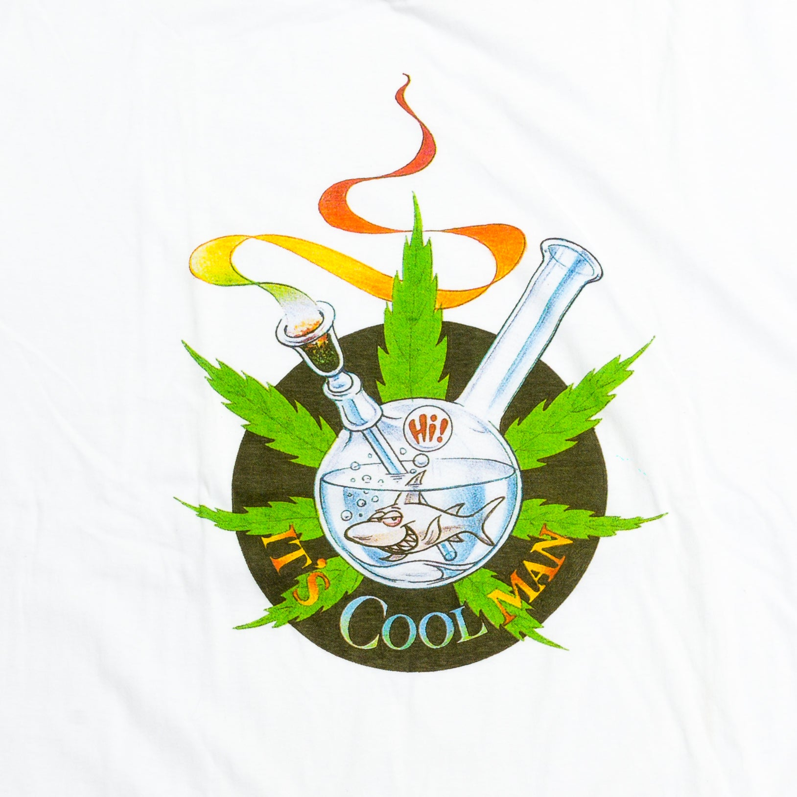 90's Weed Fish Bowl T-Shirt