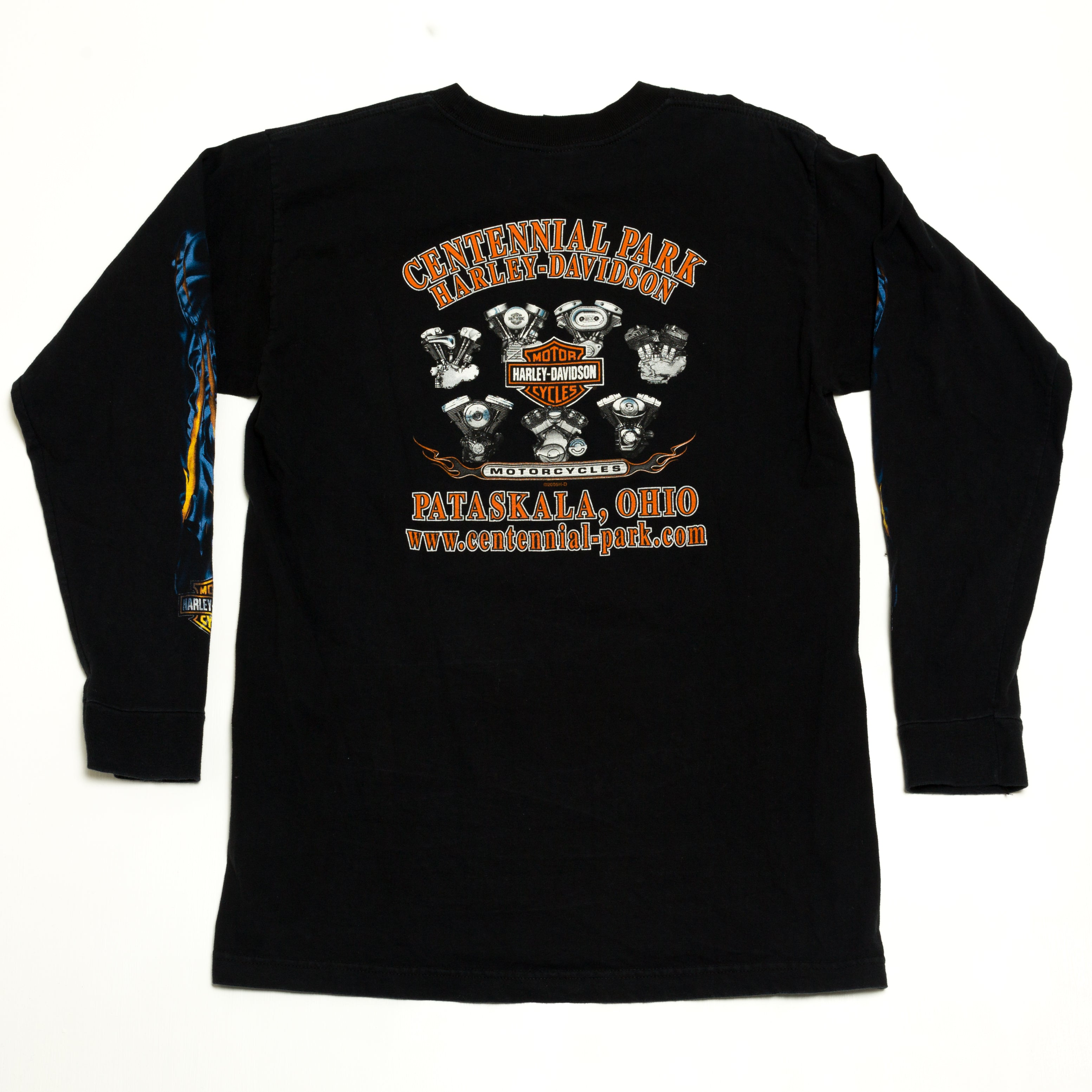 2005 Harley Davidson Long Sleeve T-Shirt