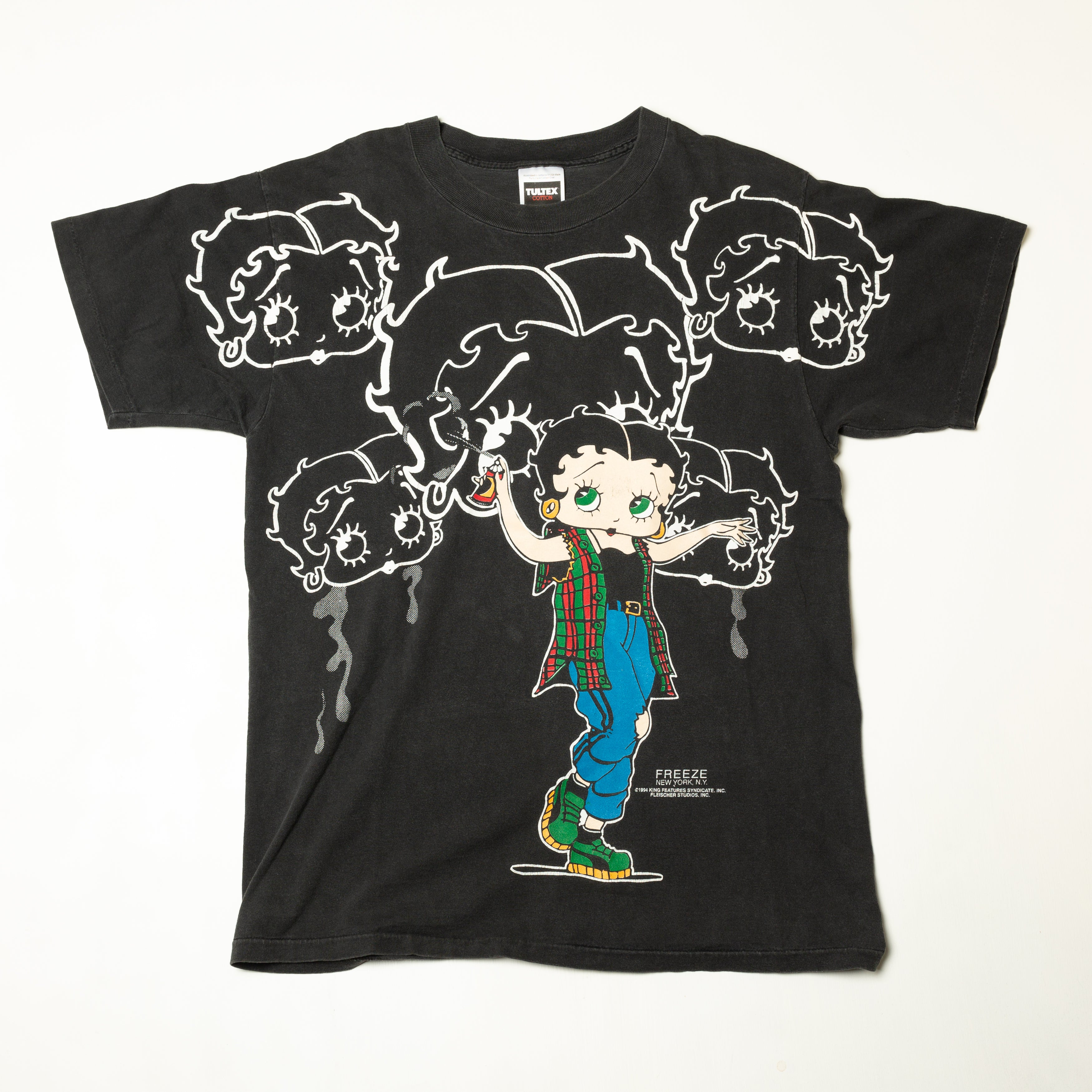 1994 Betty Boop Spray Paint T-Shirt