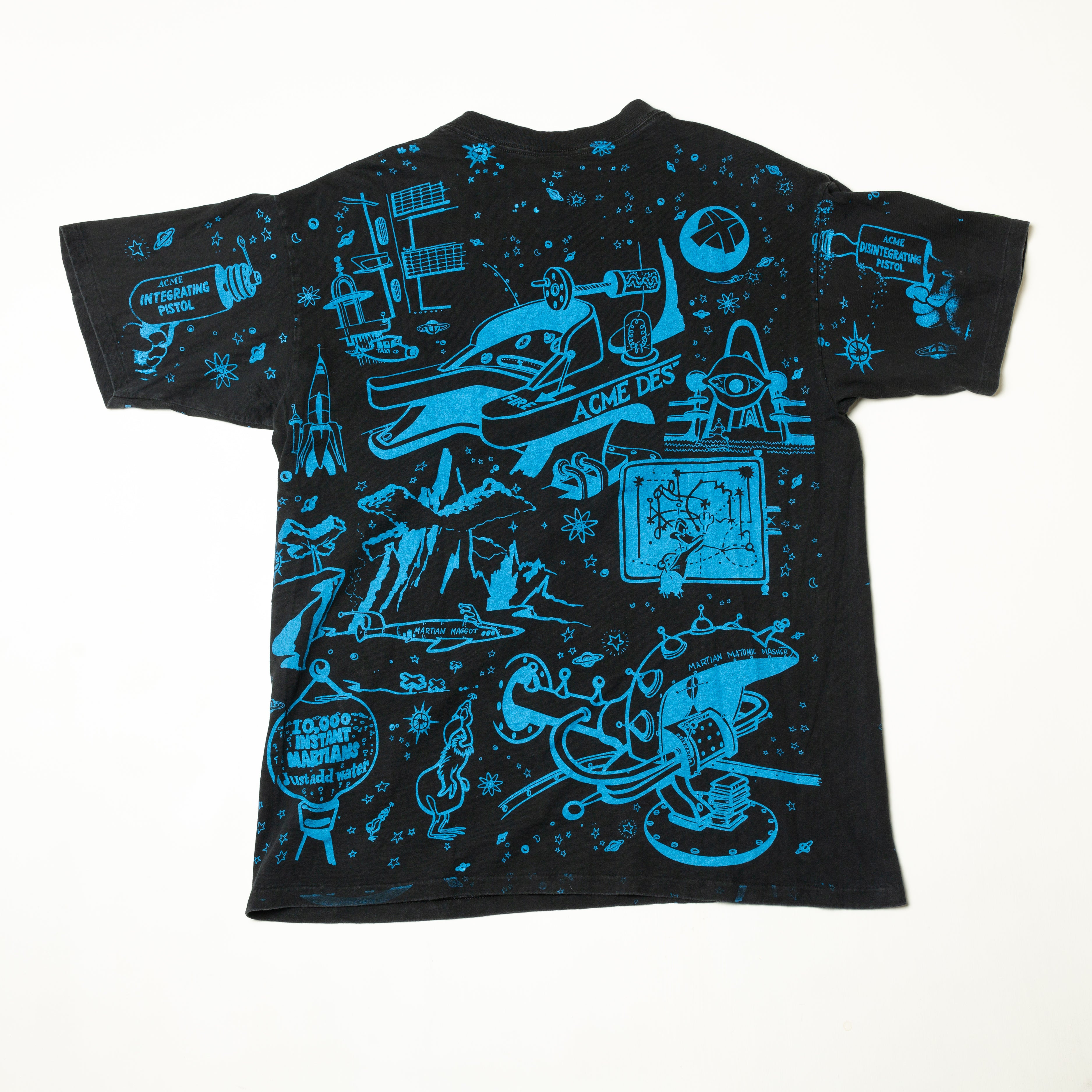 1992 Marvin The Martian All Over Print T-Shirt