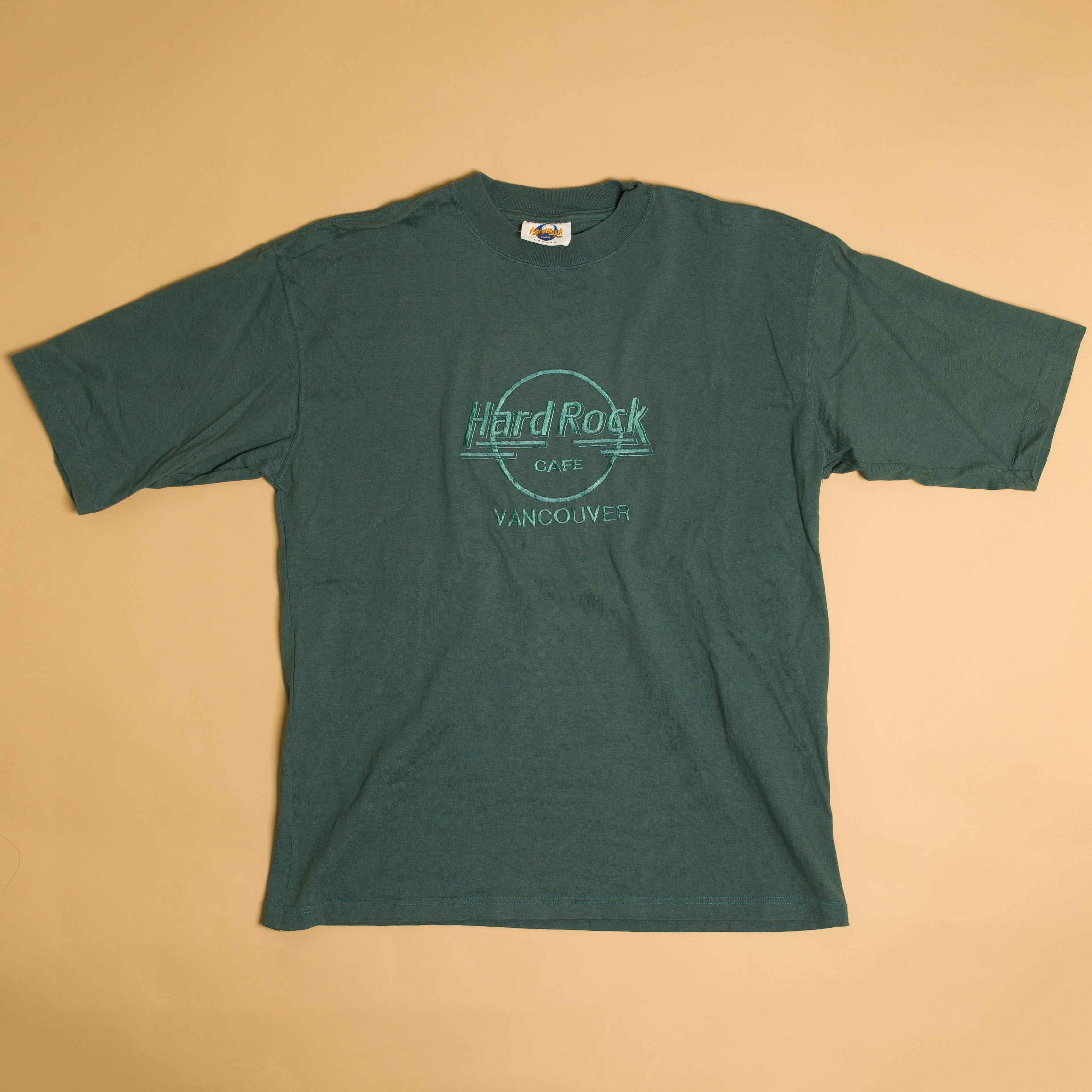 Vintage 90's Hard Rock Cafe Vancouver Canada T-Shirt