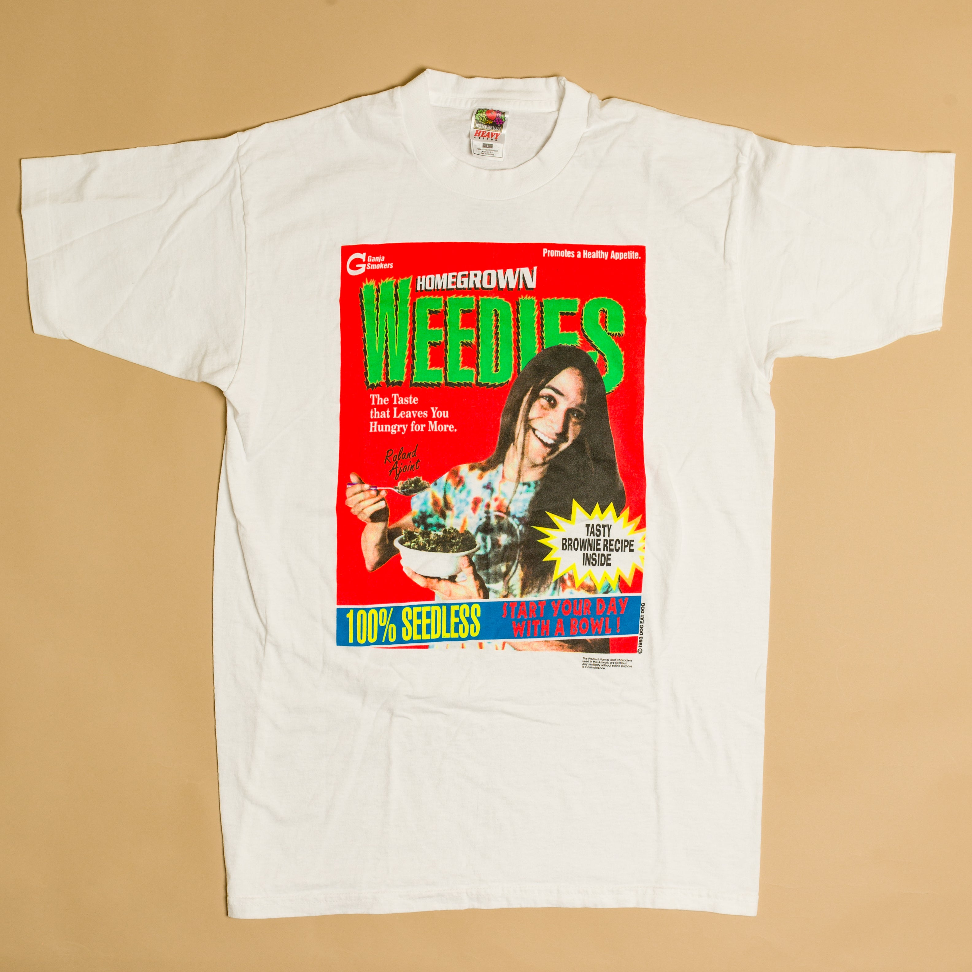Vintage 1993 Home Grown Weedies T-Shirt