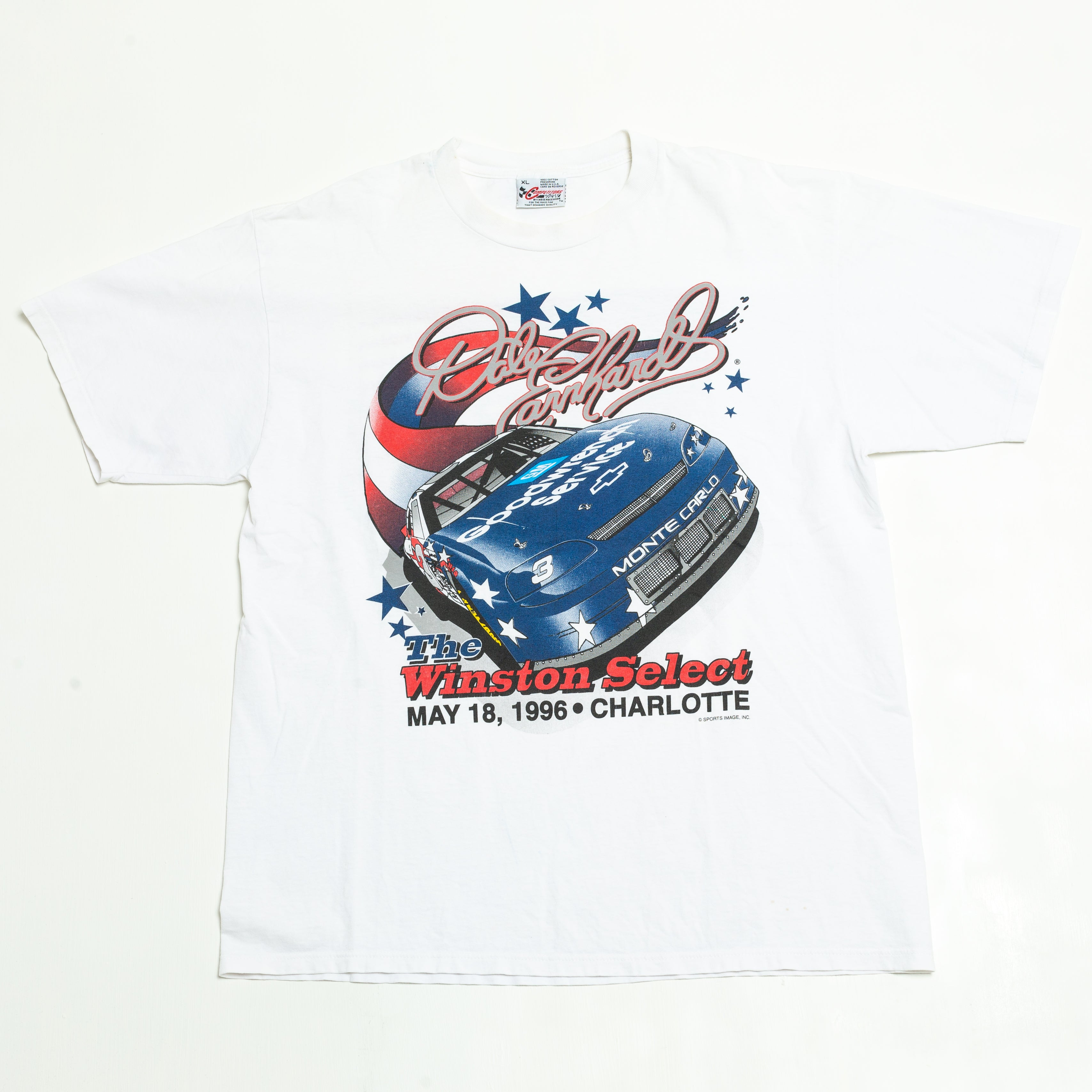 1996 Dale Earnhardt Winston Select Racing T-Shirt