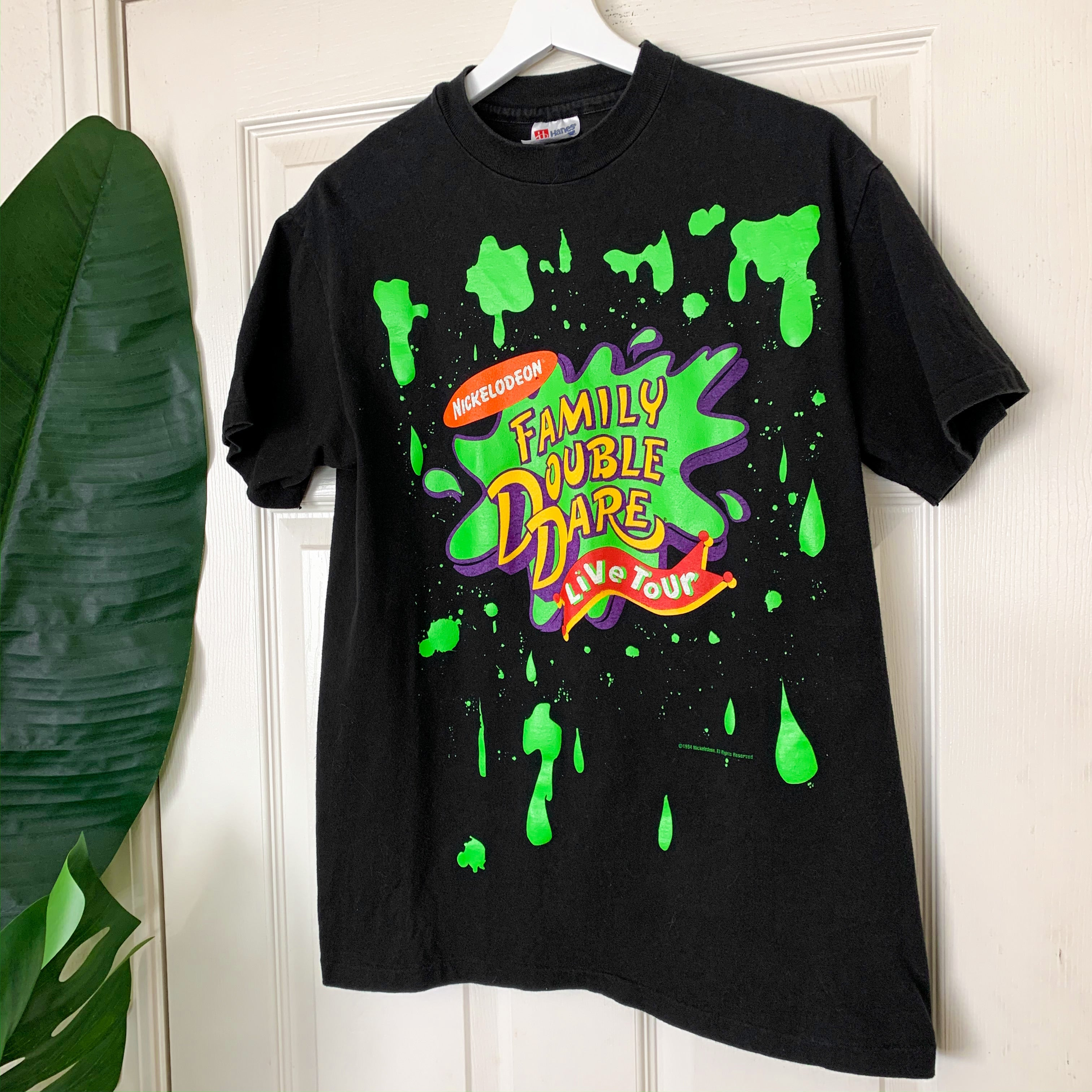 1994 Nickelodeon Family Double Dare Tour T-Shirt