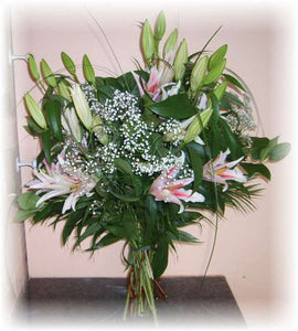 Beautiful Lily Vase