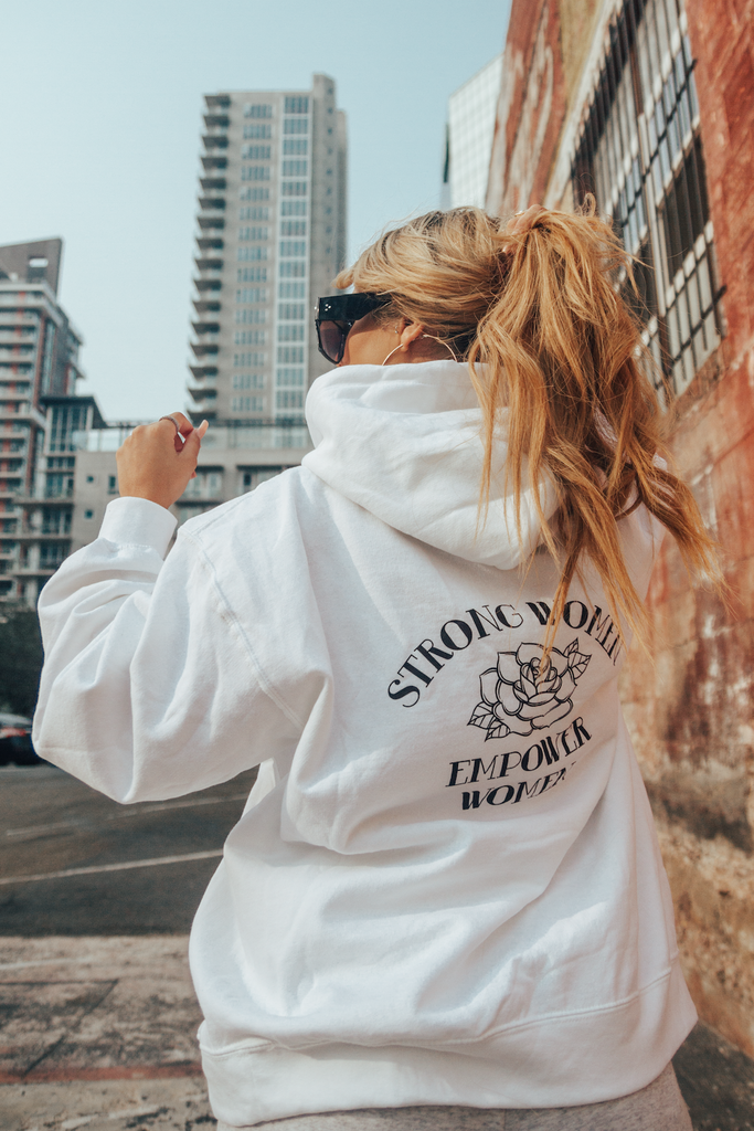 Strong Women Empower Hoodie
