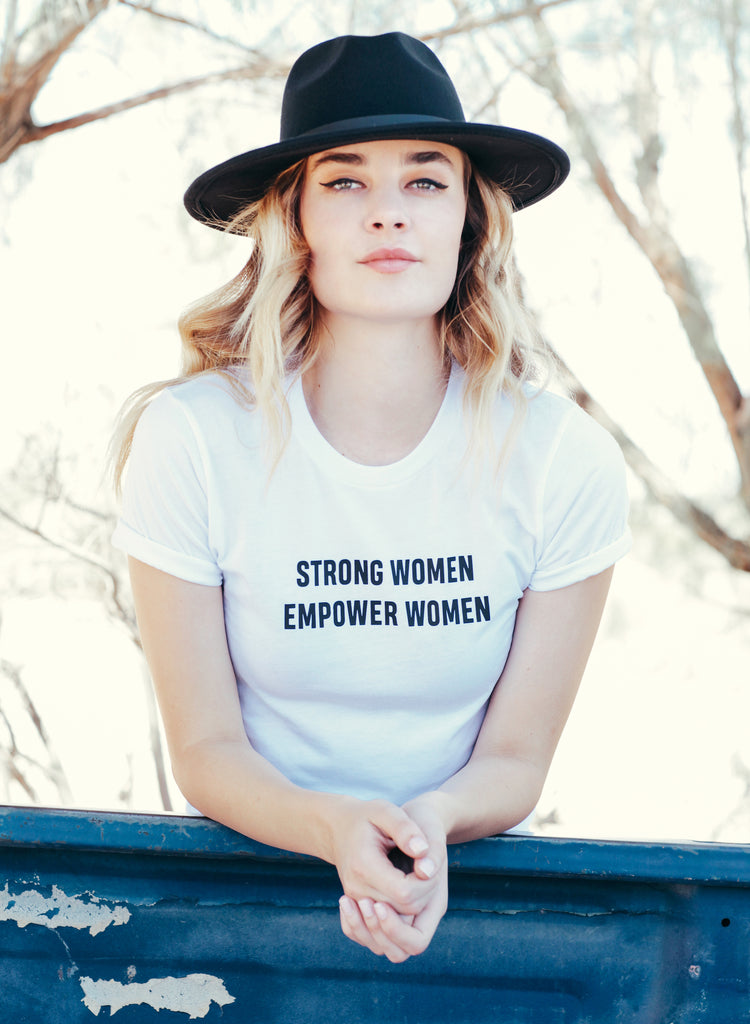 Strong Women Empower Tee II - REBEL SOUL COLLECTIVE FEMINIST GRAPHIC TEES
