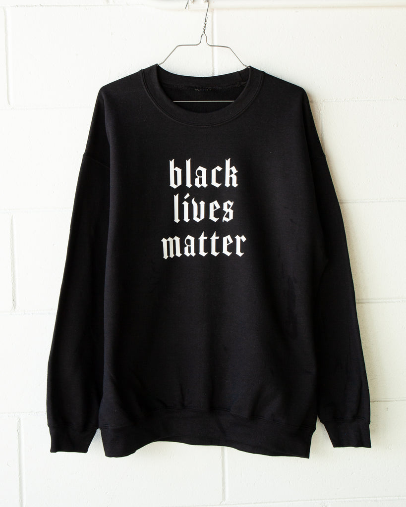 BLACK LIVES MATTER Pullover - Preorder - REBEL SOUL COLLECTIVE