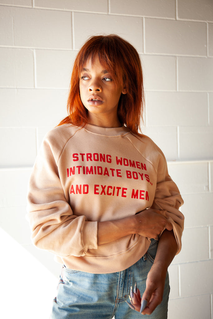 Strong Women Intimidate Pullover