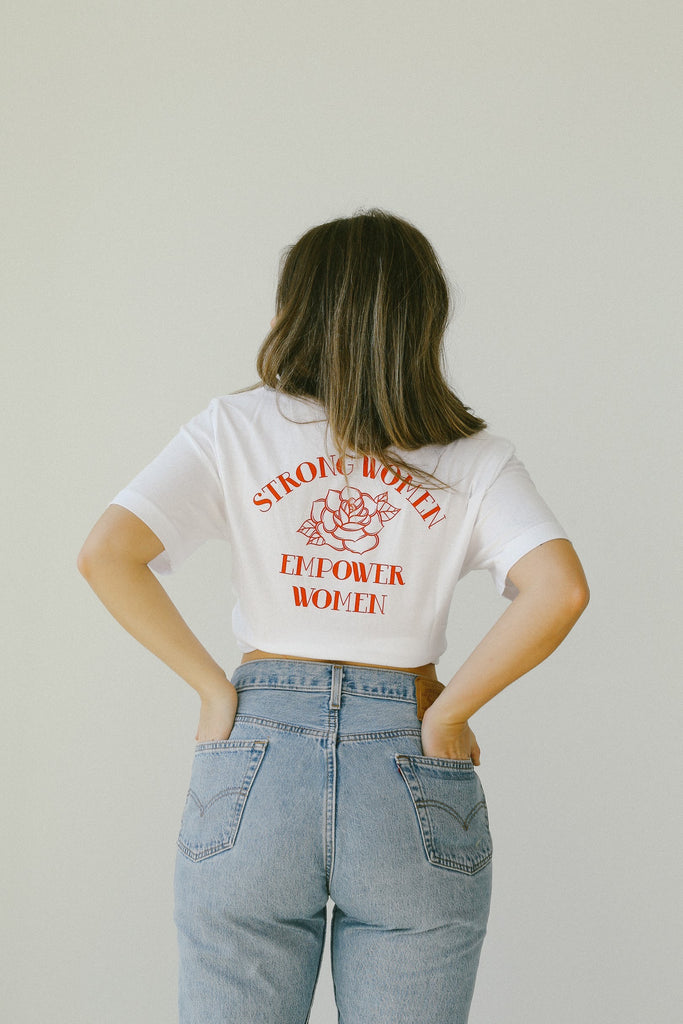 Strong Women Empower Tee - REBEL SOUL COLLECTIVE FEMINIST GRAPHIC TEES