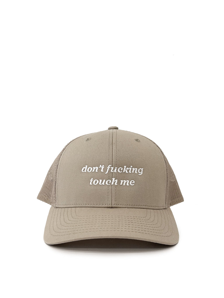 Don't Touch Me Retro Hat
