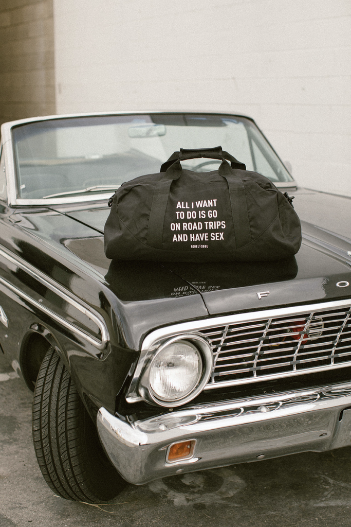 Roadtrippin' Duffle Bag