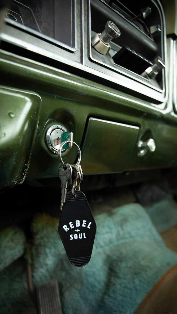 Rebel Soul Keychain - REBEL SOUL COLLECTIVE