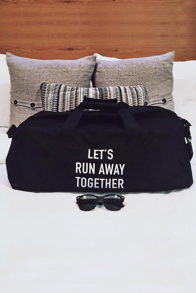 Run Away Duffle Bag