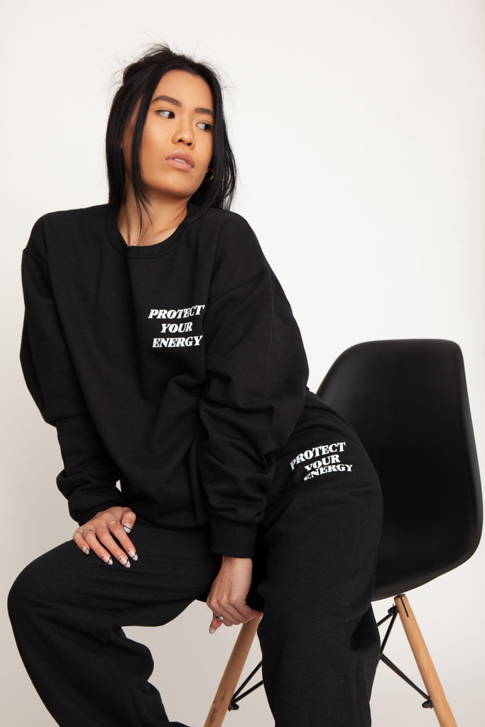 Protect Your Energy Crewneck Pullover