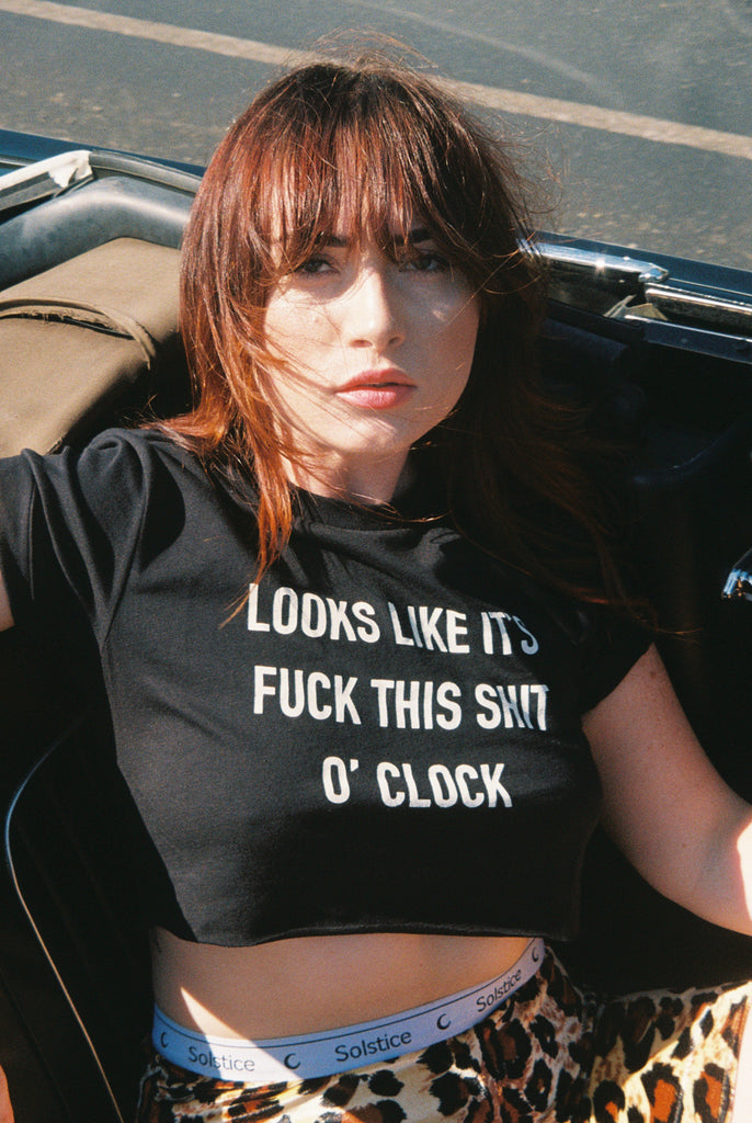 O' Clock Tee - REBEL SOUL COLLECTIVE FEMINIST GRAPHIC TEES