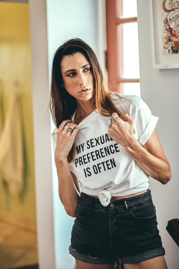 SEXUAL PREFERENCE TEE