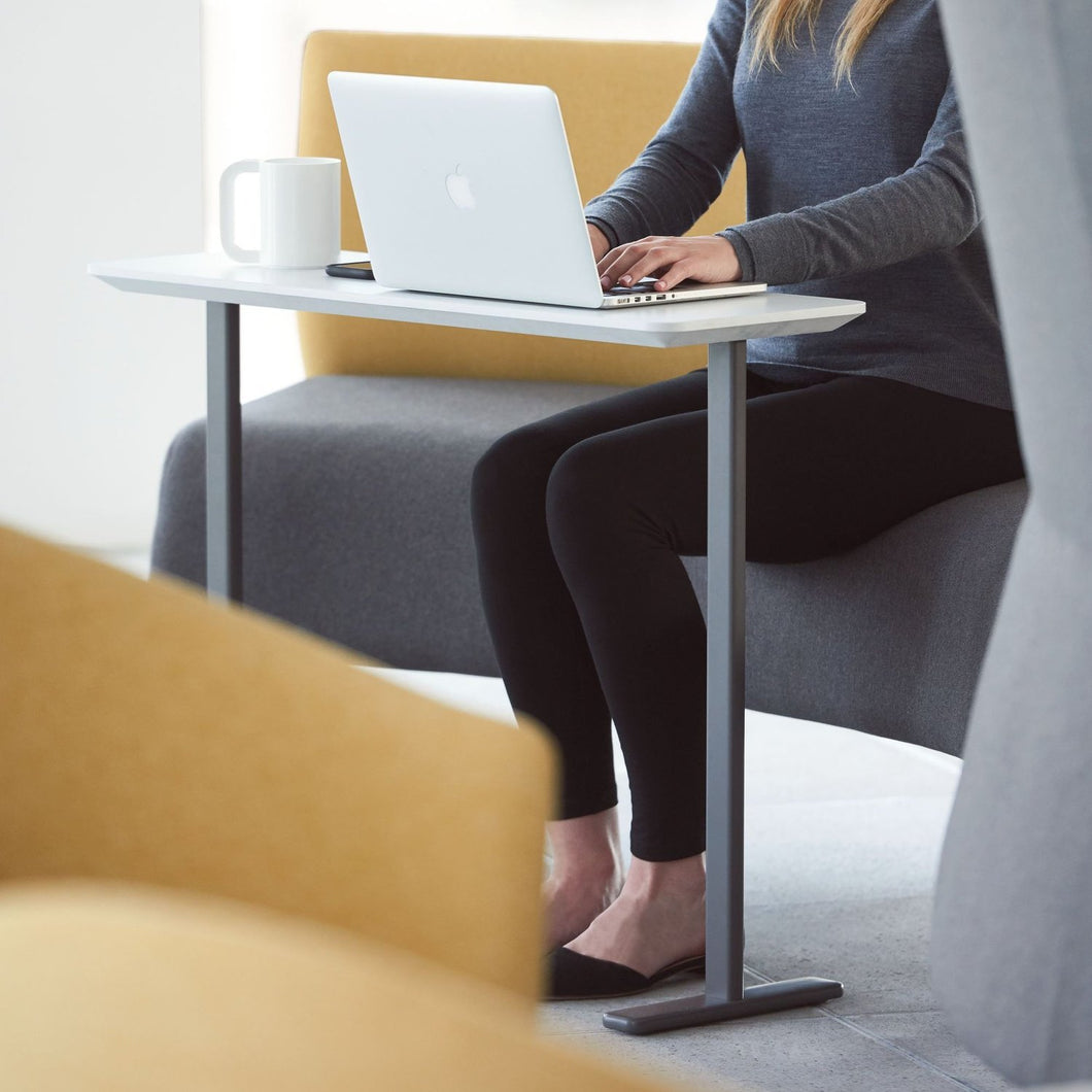 Modern Laptop Table - bluespaceinteriors office furniture los angeles