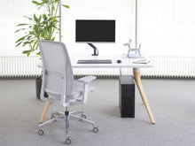 Load image into Gallery viewer, Fully Adjustable Single Monitor Arm - bluespaceinteriors office furniture los angeles