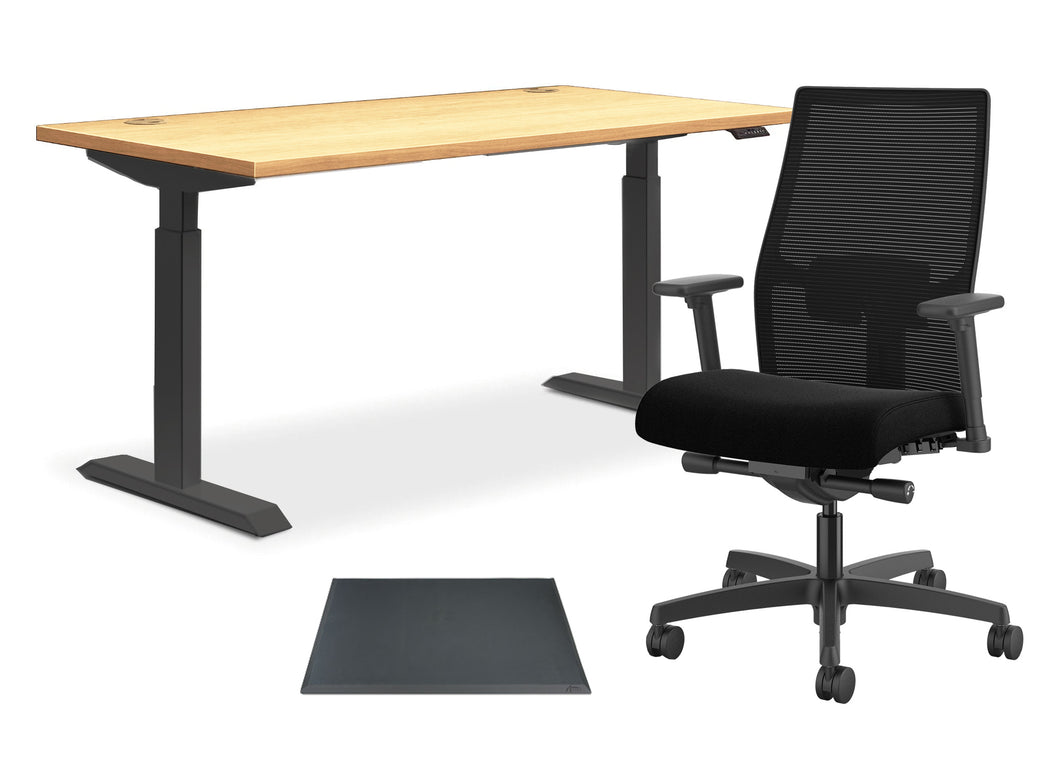 A More Comfortable Home Office – The Trailblazer Bundle - bluespaceinteriors office furniture los angeles