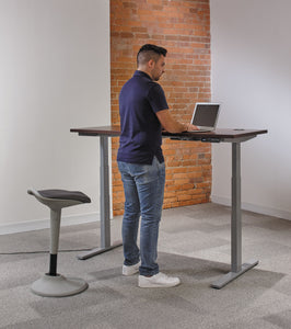 Sit-To-Stand Workspace - bluespaceinteriors office furniture los angeles