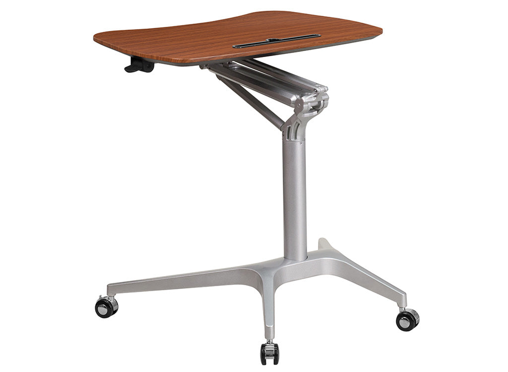Sit/Stand Laptop Table - bluespaceinteriors office furniture los angeles