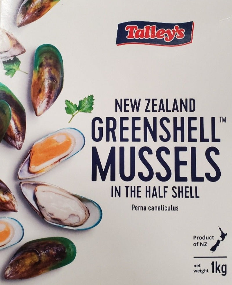 New Zealand Large Half Shell Mussels (2pack/order)