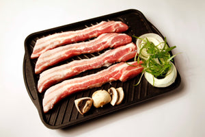 Skinless Pork Belly Sliced 6mm (1kg/pack)