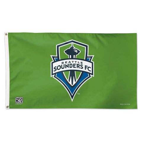 Sounders Logo Deluxe 3x5 Flag