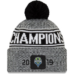 Sounders 2019 MLS Champions Knit Beanie